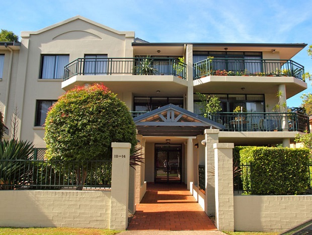 strata complex painting at Hornsby with Summit Coatings