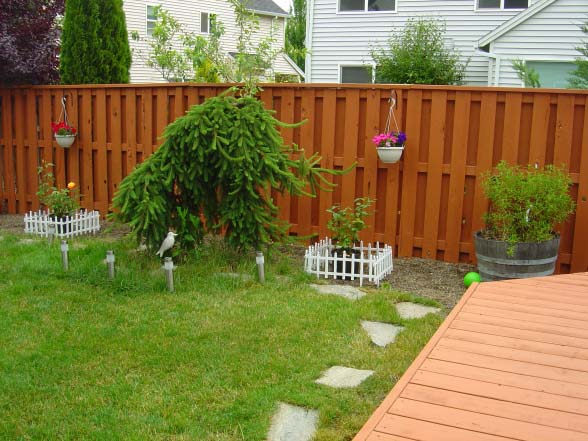 Exterior tips for residential painting backyard fence painting classic ideas with Summit Coatings