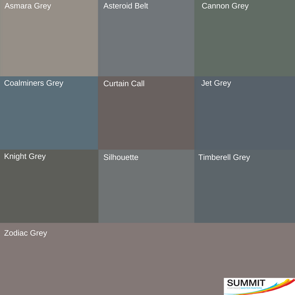 Feature wall top grey picks from our house painters North Shore at Summit Coatings