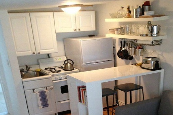 Small kitchen advice and tips for from our interior painters Sydney showcase white cabinets from Summit Coatings